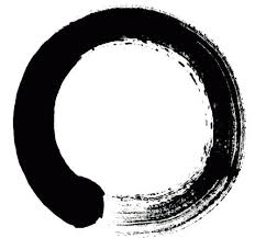Enso Circle as a Buddhist Symbol to show the motion made when creating the Enso